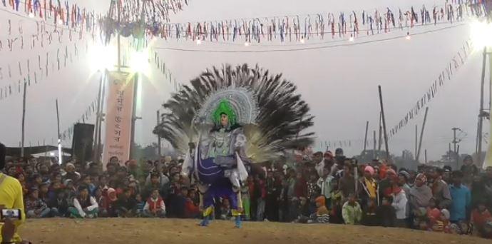 Mahishahur Badh (Slaying of Mahishasura)